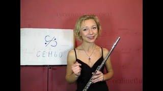 Урок 7, флейта. Знак сеньо.