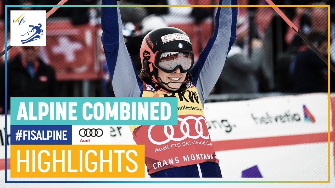 Federica Brignone Wins Second Alpine Combined of the Season in Crans Montana
