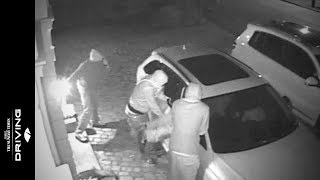 Caught on CCTV: thieves steal Audi RS4