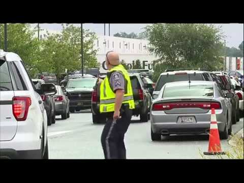 Multiple people shot at Maryland warehouse