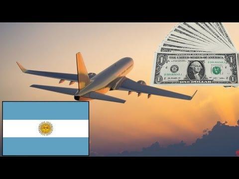 ¿CUÁNTO CUESTA UN VUELO A ARGENTINA?