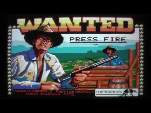 Let's Compare: Outlaw [aka. Wanted](C64/CPC/Spectrum/ST/Amig