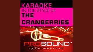Linger (Karaoke Instrumental Track) (In the style of Cranberries)