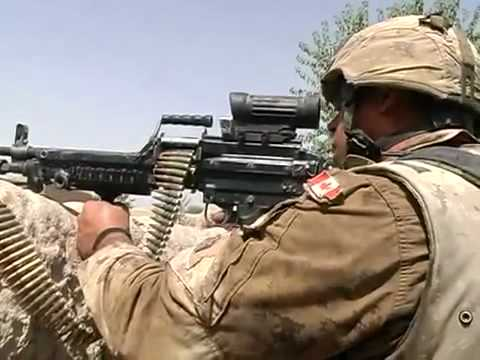 Canadian Armed Forces In Really Heavy Firefight In Afghanistan 3/3.