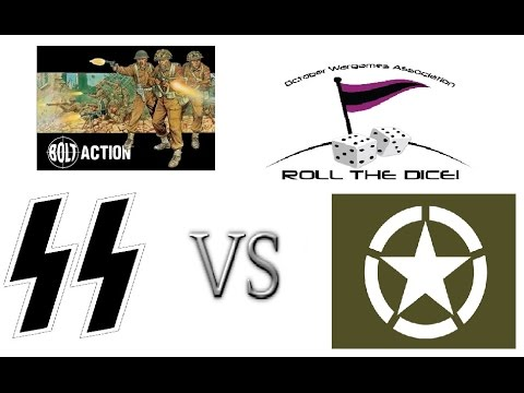 Bolt Action Escalation League Game #4: 1k  Waffen SS vs Americans [V1 Rules]