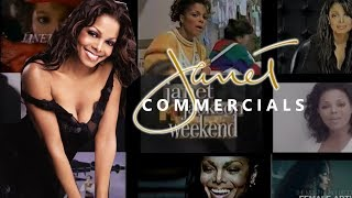 UPDATED VERSION OF THIS VIDEO: https://www.youtube.com/watch?v=zpzOBd870iA ----------------- Commercials of Janet Jackson from 1984 to 2018.
