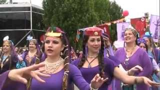Fremont Solstice Parade 2012 with Delilah and Visionary Dancers (Part 2) thumbnail