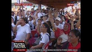 SONA: 'Di bababa sa 100k miyembro ng Kapa nanawagan vs pagpapasara ng organisasyon