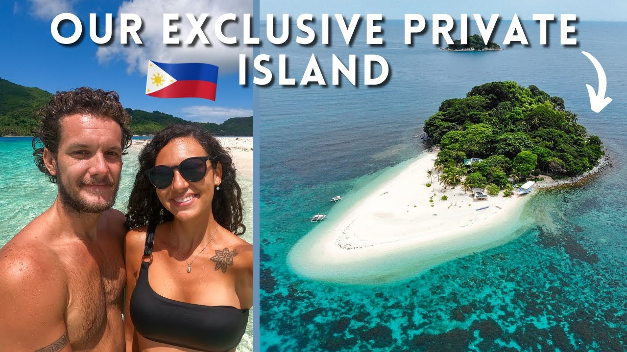 A DAY ON A EXCLUSIVE PRIVATE ISLAND 🇵🇭 EL NIDO PHILIPPINES