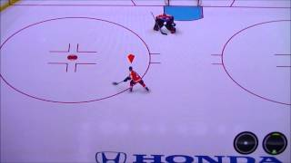 How to perform a toe drag in NHL 13 (PS3)