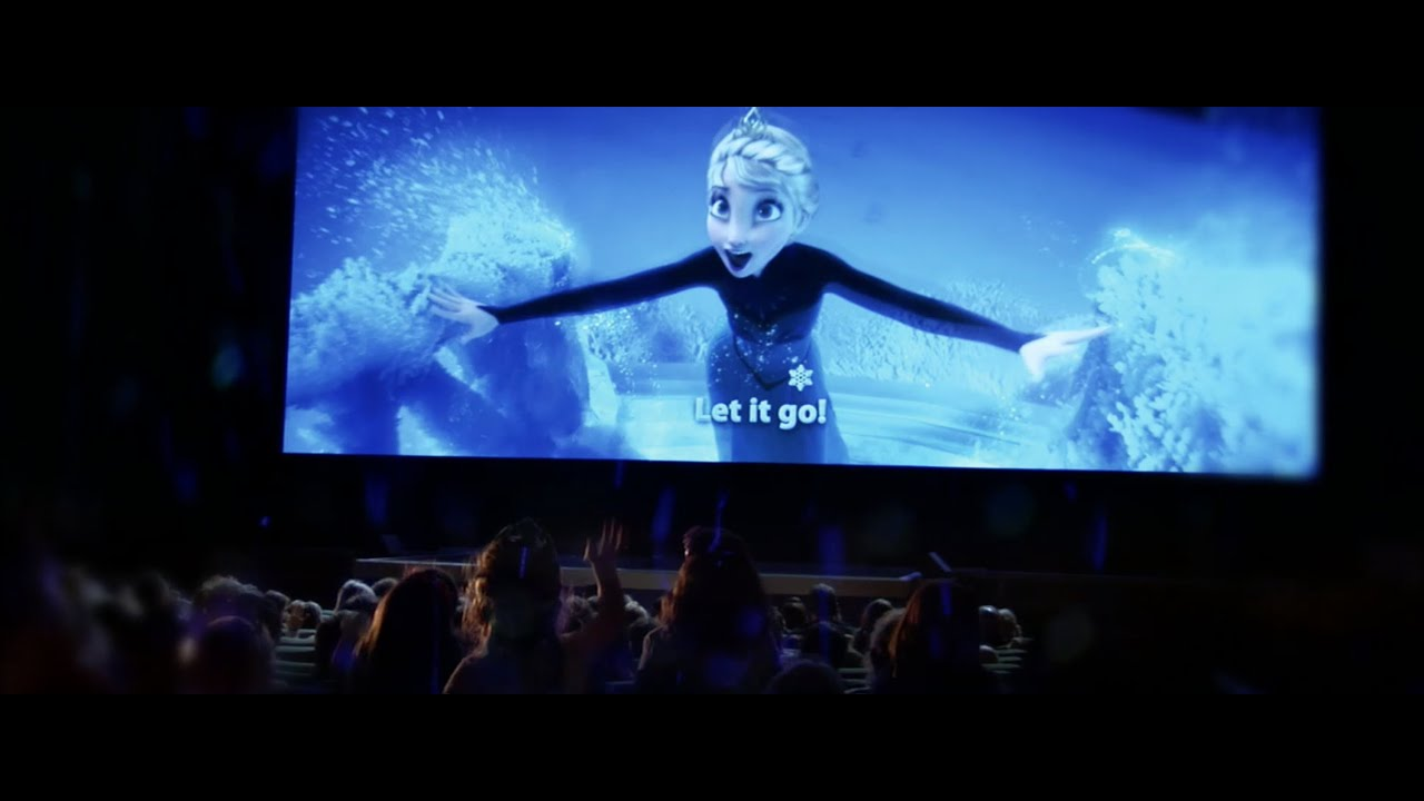 Frozen Sing-Along - Now Playing in Theatres