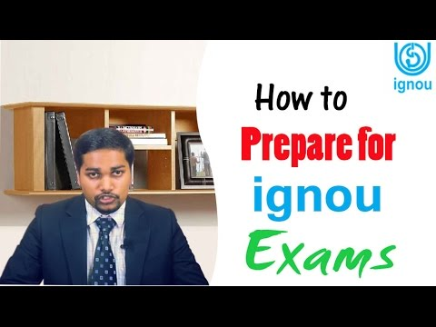 How to prepare for IGNOU exams
