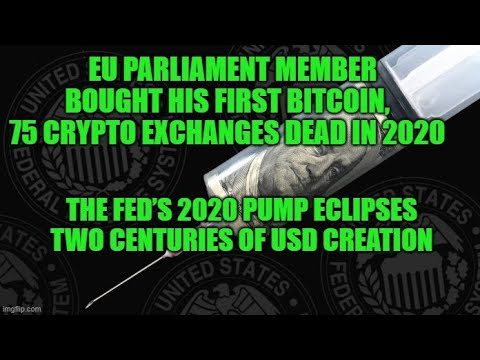 EU Parliament Member Bought His First Bitcoin, 75 Crypto Exchanges Dead in 2020 10/5/2020