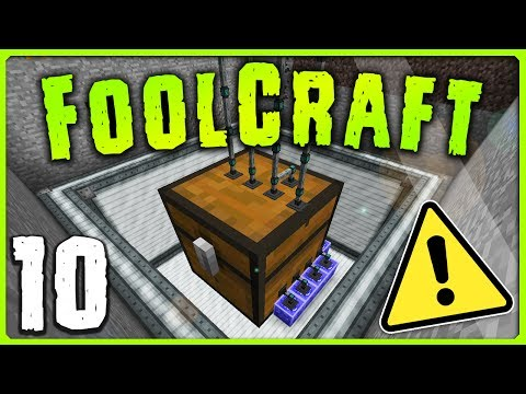 FOOLCRAFT | Ep 10 | DANGER PAY FOR BDUBS! || Minecraft Modded