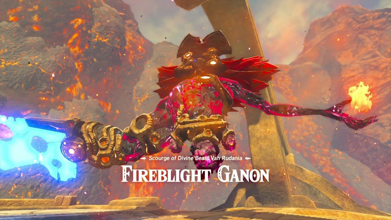 The Legend Of Zelda Breath Of The Wild Fireblight Ganon