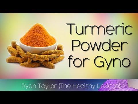 Turmeric for Gynecomastia (Man Boobs Cure)