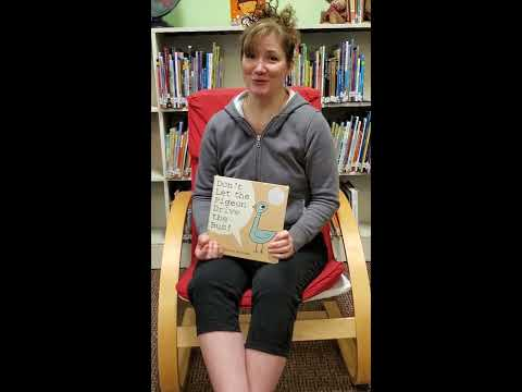 Alberton School Librarian Reads Don't Let the Pigeon Drive the Bus