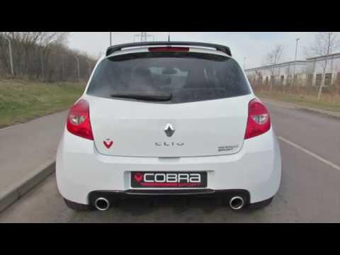 Cobra Sport Renault Clio RS200 Resonated Cat Back Performance Exhaust System
