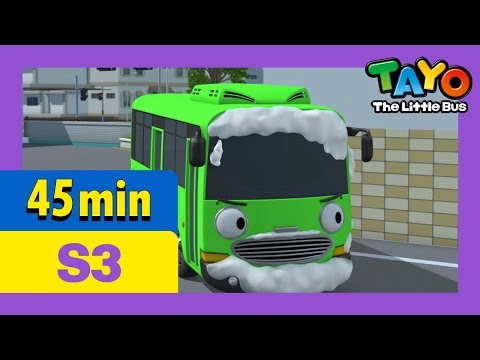 Tayo S3 Full Episodes EP1-4 l The new friend, Heart l Rogi the sweeper l Tayo the Little Bus