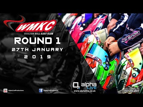 Whilton Mill Kart Club Round 1 LIVE From Whilton Mill