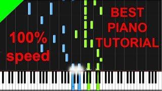 The Script - Rain Piano Tutorial + Free SHEETS & MIDI