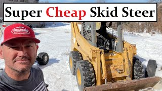 #479 - I Bought A Skid Steer SUPER CHEAP!!!  (Hydraulic Problems That I Can Fix...) GEHL 5635