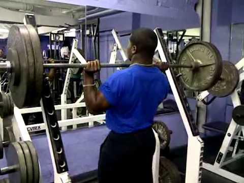 235 lbs Over Head Press