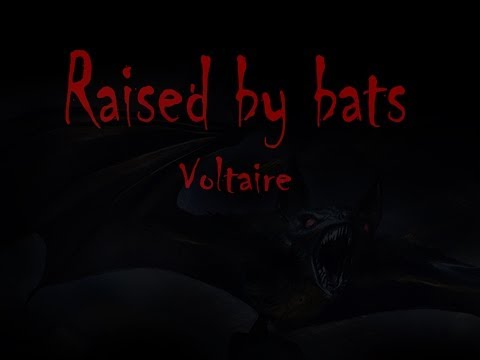 Voltaire - Raised by Bats (Lyrics on Screen) HD