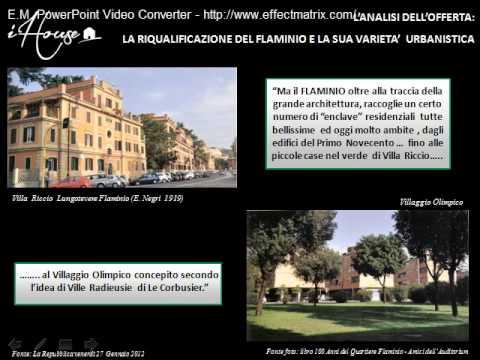 Agenzia immobiliare nel quartiere Flaminio di Roma