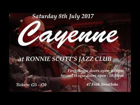Cayenne will take Tea At The Cafe de Paris to Ronnie Scott's Jazz Club