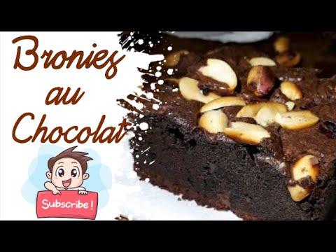 brownies-au-chocolat-!!!براونيز-بشكولاطة-ألذ-براونيز