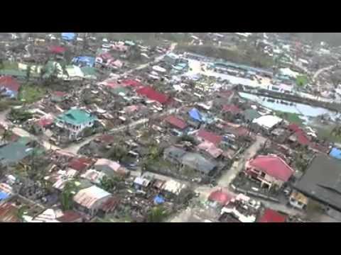 Richard Gomez's shot of Isabel, Leyte after Yolanda