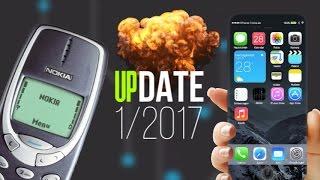 UPDATE 1/2017 ● iPhone 8, Smrtící Note 7 & NOKIA je zpět!