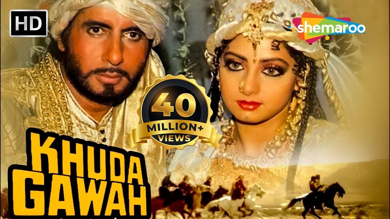 Download Khuda Gawah (HD) | Amitabh Bachchan | Sridevi | Nagarjuna | Hindi Full Movie