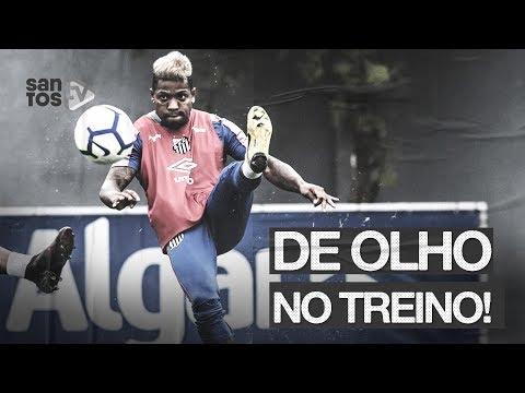 COM VOLTA DE ATLETAS DE SELEÇÃO, SANTOS TREINA NO CT | DE OLHO NO TREINO (12/09/19)
