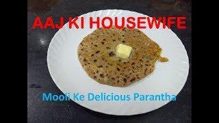 Mooli Ka Delicious Paratha Recipe