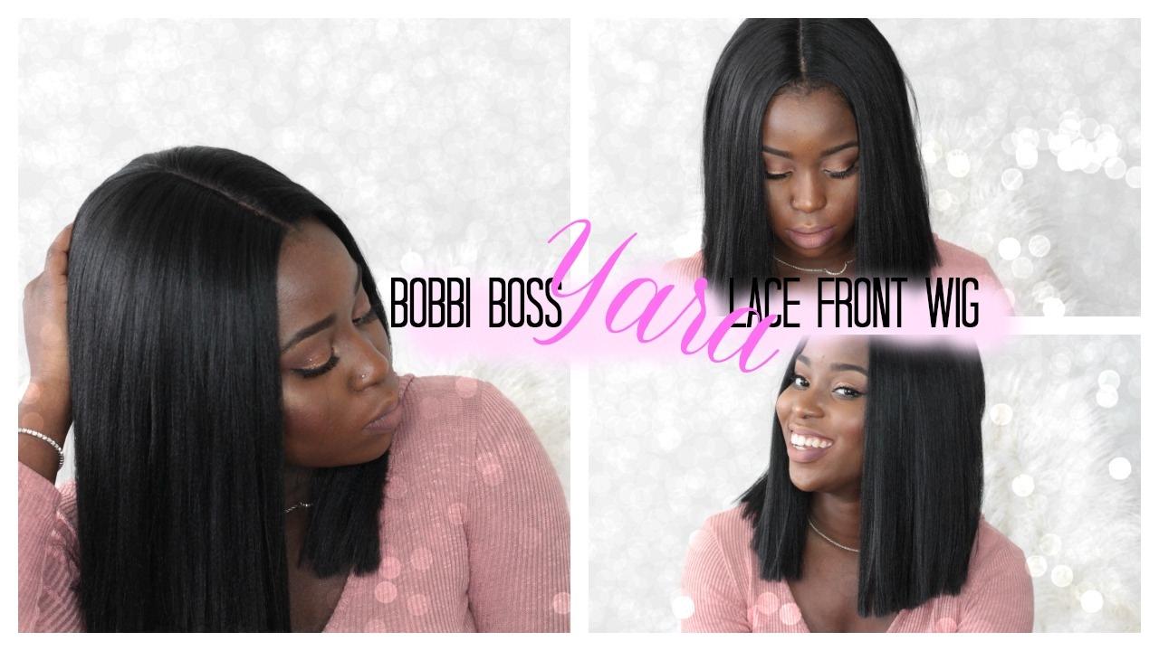 My New Blunt Bob Baby Yara Lace Front Wig By Bobbi Boss