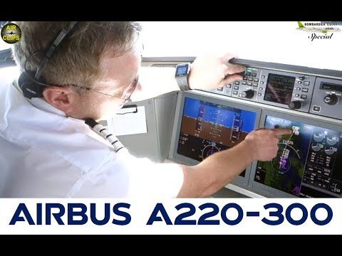 Air Baltic CS300 Technical Pilot presents the stunning Cockpit of this brand new type! [AirClips]