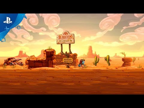SteamWorld Dig 2 - Gameplay Trailer | PS4