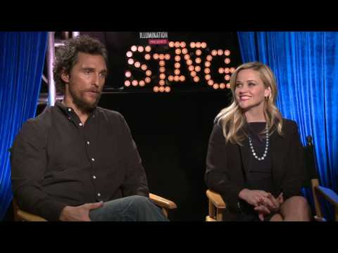 Sing Matthew McConaughey & Reese Witherspoon Interview