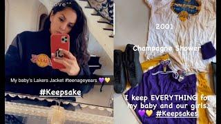 Vanessa Bryant Goes Through Kobe's Closet Finds Irreplaceable Keepsakes