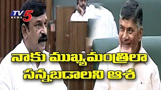 BJP Vishnu Kumar Raju Comedy in Assembly | MLA Vishnu Kumar Raju Slams YS Jagan | TV5 News