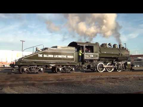 Baldwin #26 - First Moves Under Steam in 2015