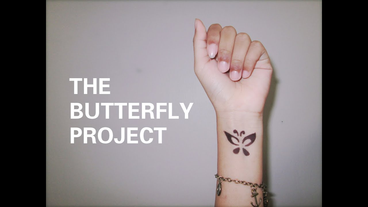 Cute Wallpapers Drawings Rose Gold The Butterfly Project Youtube