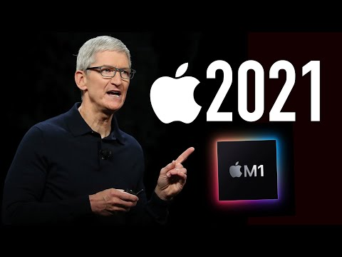 Что покажет Apple в 2021 году? iPhone13 не будет, новый iMac, AirPods 3, Watch в новом дизайне...