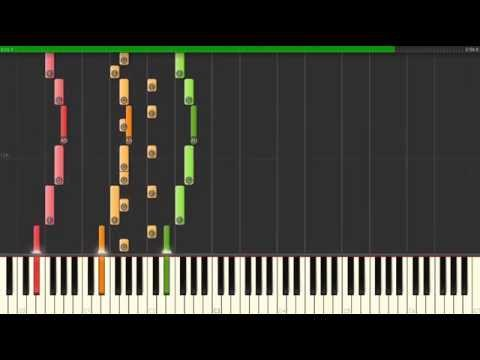 Aerials — System Of A Down, How To Play on Piano  Synthesia Tutorial