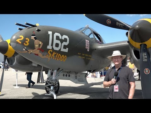 P-38 Walk Around with Chris Fahey