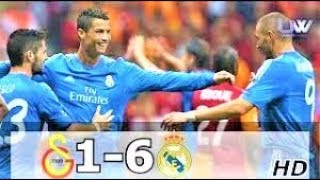 Galatasaray vs Real madrid Highlights (1st game of champions league in 2013) 1-6
