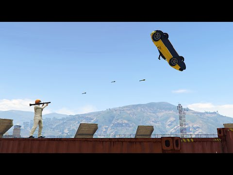 TRY TO KILL ME! (GTA 5 Funny Moments)