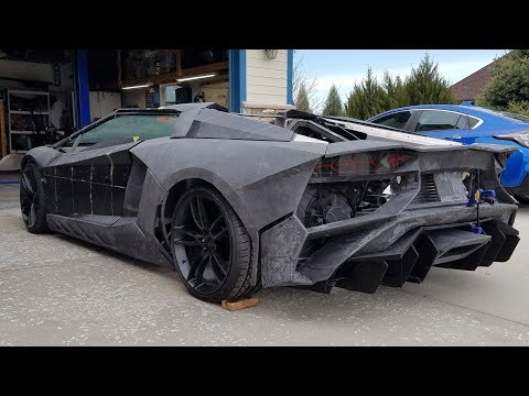 Meet the Colorado physicist who's constructing this lookalike Lamborghini using a 3D printer